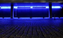blaues Licht (hagge2323) Tags: blue light abend licht blau altona lichter langzeitbelichtung hagge2323 stefanhagge