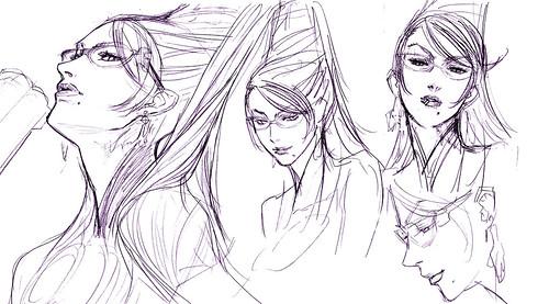 bayonetta sketch 2