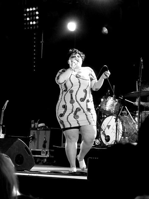 Gossip (Beth Ditto), Furia Sound Festival 2009, Cergy Pontoise, France
