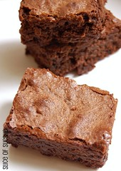 """baked"" brownie"