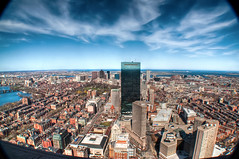 View down on Beacon Hill & Back Bay (Werner Kunz) Tags: world city trip travel blue vacation sky urban usa holiday boston skyline clouds america photoshop river ma us nikon downtown massachusetts urlaub charlesriver north newengland wideangle charles center stadt northamerica johnhancock fluss beacon ultrawide dri blauerhimmel bostoncommon prudential hdr backbay beaconhill prudentialcenter hdri werner reise beantown metropole johnhancocktower kunz photomatix 20fav explored colorefex nikond90 topazadjust werkunz1