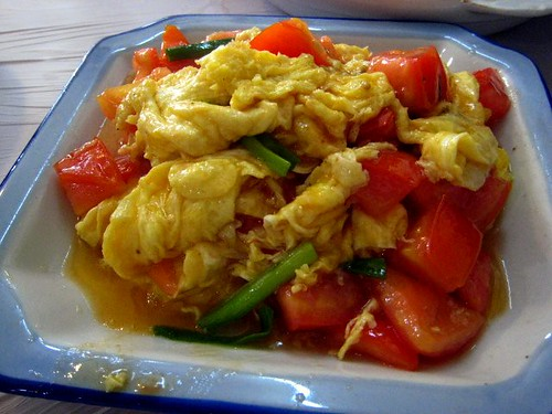 Stir-Fry Egg with Tomatoes