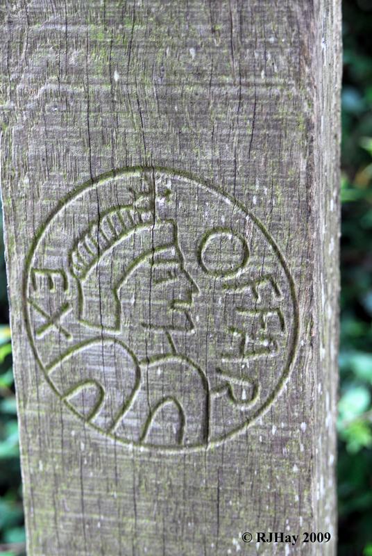 Signpost - Offa's Dyke Path