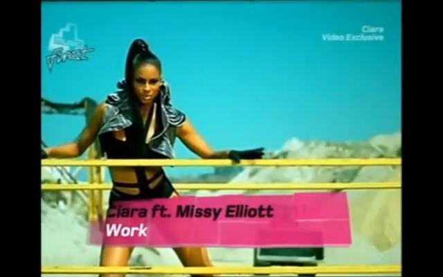 Ciara ft Missy Elliott - Work video2