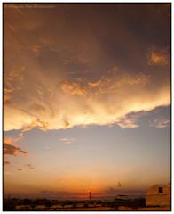{ sunset by the sea   atardecer al lado del mar } (Fernando Sosa) Tags: sunset méxico landscape mexico atardecer seaside sundown yucatan paisaje yucatán sisal mx copyfernandososamontemayor cfernandososamontemayor