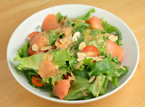 Grapefruit and Dill Salad