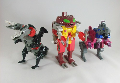 Transformers Repugnus G1 - Monsterbots - modo alterno