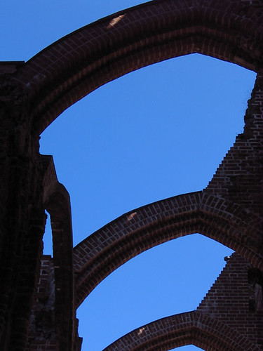 Cathedral in Ruins in Tartu, Estonia. Photo: Ulla Hennig