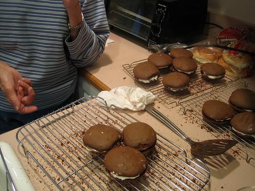 Making Whoopie Pies