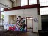 look into my eyes (mrzero) Tags: abandoned wall effects graffiti hungary character budapest dirt colored graff cfs mrzero