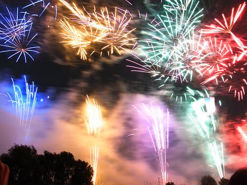 Fireworks in Itabashi, 2009 - 2
