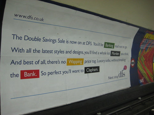 DFS Tube Ad