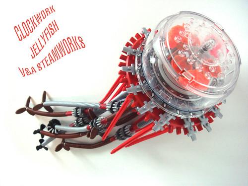 Clockwork Jellyfish by V&A Steamworks