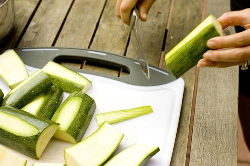 leveling zucchini boats 3