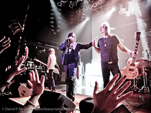 The Cult @ HOB San Diego por David McCarter.