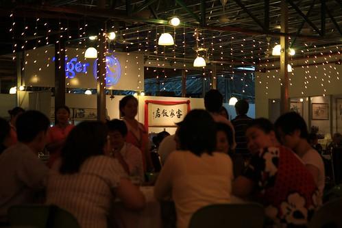 客家饭店-这里可以看到马来西亚双子塔