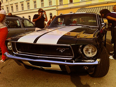Oldtimer, Mustang Fastback (M4j4) Tags: horse car mobile club point nokia check power phone album stripes rally slovenia oldtimer mustang slovenija gt veteran 2009 67 maribor avto 68 fastback klub n95