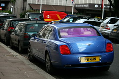 Bentley Continental Flying Spur. (Tom Daem) Tags: london spur flying continental bentley arabs