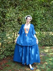 1740s casaque, front
