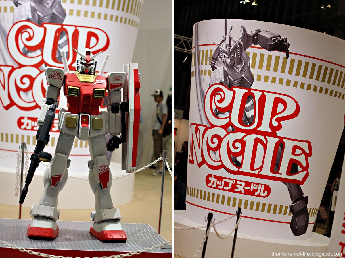 Cup Noodle X Gundam