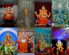 Lord of Obstacles, 8 different idols (Mayur Kotlikar) Tags: city india lake photography ganesha festivals hobby special maharashtra hindu incredible bappa ganpati nagpur marathi mayur hindurituals vighneshvara ganeshidol lordofobstacles ambazari gorewada panasonicfz28 vighnesha kotlikar telankhedi lordofwisdom vignaharta moryaganpatibappa 440010