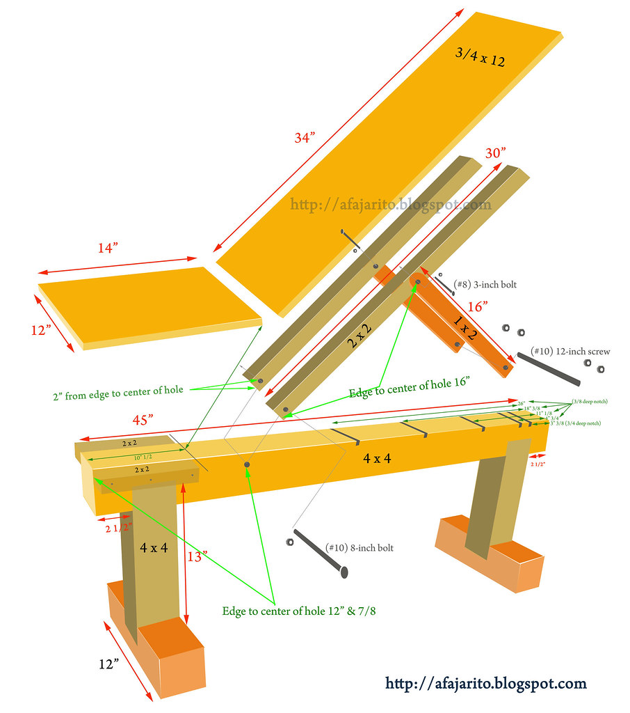 metal weight bench plans