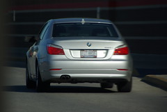 BMW 528? (C. Totten) Tags: car k one pentax 10 d bmw mm tamron which 28300mm 525i 528i 523i