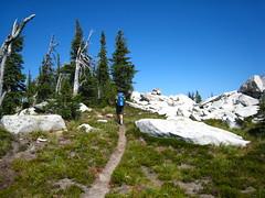 Bob on the Parker Ridge Trail, Selkirk Mountains, North Idaho