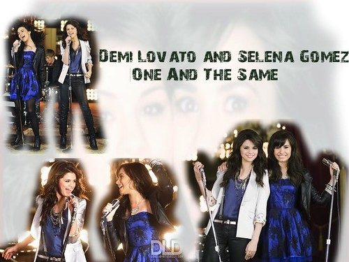 selena gomez and demi lovato one and. Demi Lovato and Selena Gomez