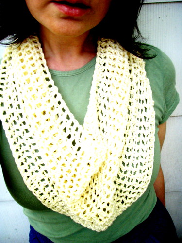 cotton cowl - cream