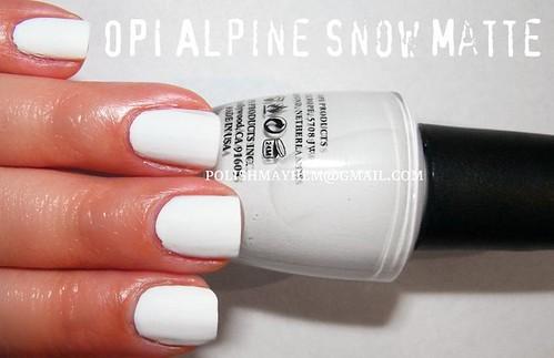 OPI Alpine Snow Matte