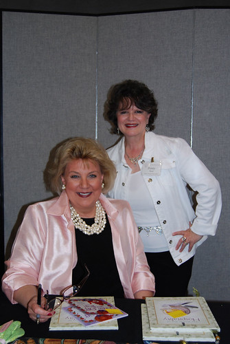 Penny with Alda Ellis at Gracious Living and Hospitality