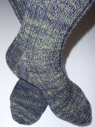 Lichen socks 2
