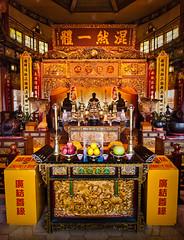 Yuen Yuen Institute Altar