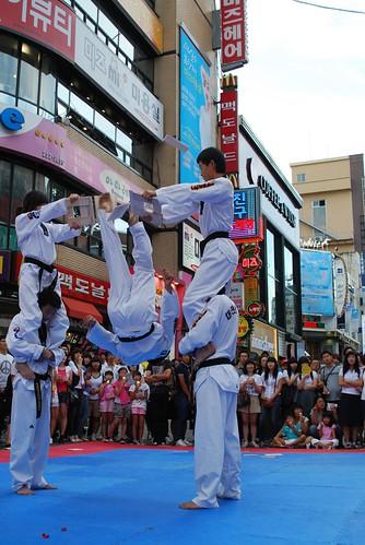 taekwondo, daejeon, korea, south by snowball34.
