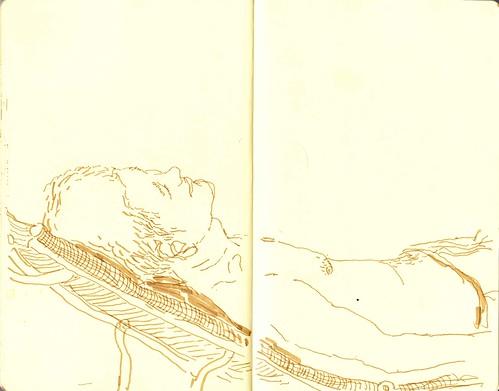 sunbathing 04