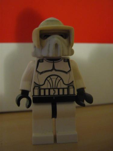 Arf Trooper 'WIP' custom minifig helmet