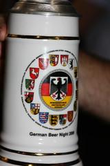 German Beer Night krug (jayinvienna) Tags: beer deutschland dulles oktoberfest bier stein krug dullesairport bundeswehr luftwaffe bierkrug bundesmarine germanbeernight bundesrepublic germanarmedforcescommand bundeswehrcommando