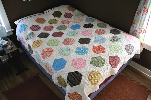 Big Hexes Quilt