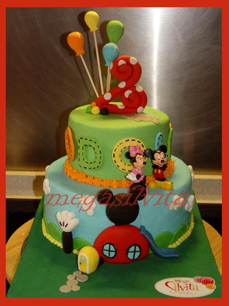 Hacer Decoracion De La Casa De Mickey Mouse Para Torta