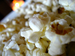 Truffled popcorn, salty and delicous.