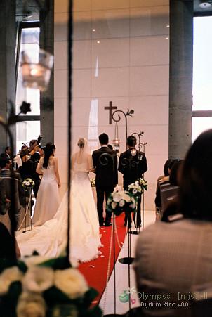 婚禮進行中