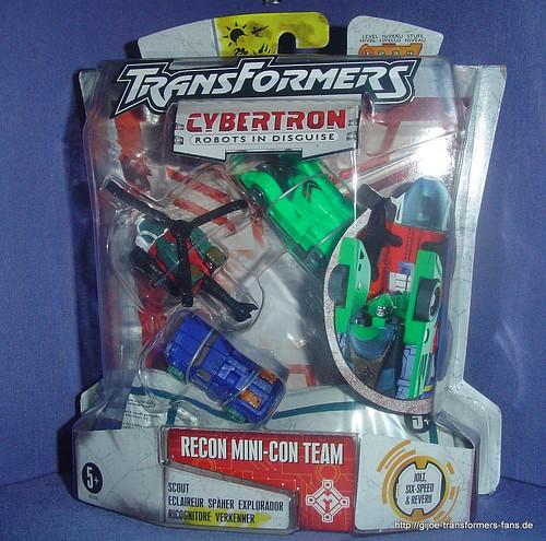 Recon-Team Cybertron Minicon  Transformers 001