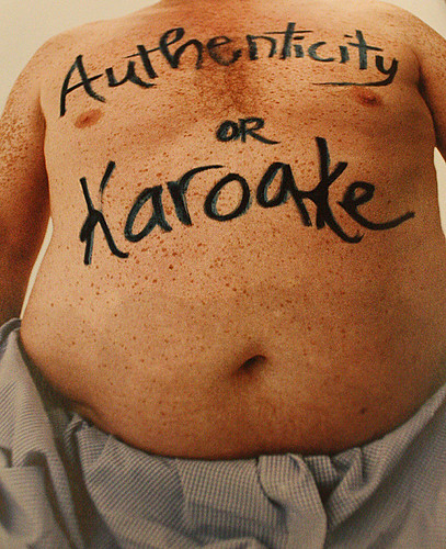 Authenticity or Karaoke (by Thru Lens)