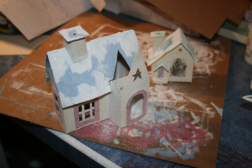making Putz houses