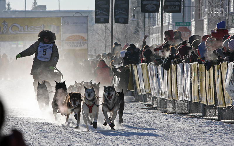 Images from the 2007 Yukon Quest