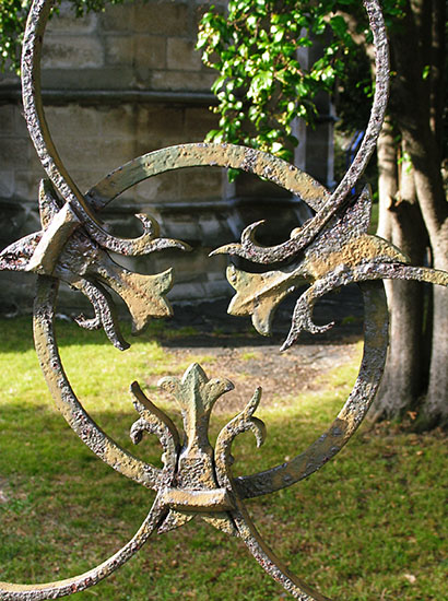 Wrought Iron, Hunter Baillie Memorial Presbyterian Church.