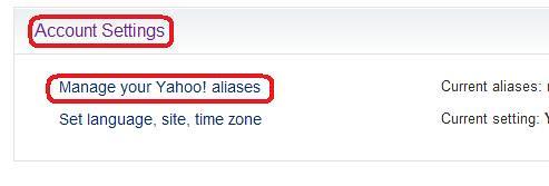 Yahoo Alias 5