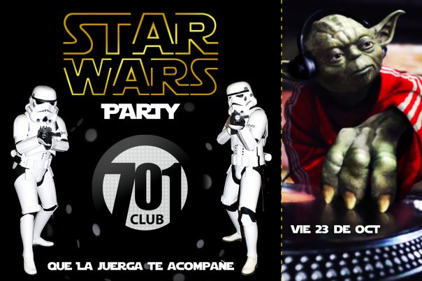 Star Wars Party - 701 Club