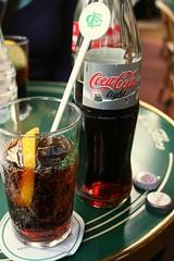Coca-Cola Light (Karol Franks) Tags: paris france cocacola light means diet coke glass cafedeflore city visitingfriend love aingworth karolfranks okarol copyrighted bing google karolfranksgmailcom ©2014 pleasedonotuseimageswithoutmypermission ©karolfranks okarolyahoocom